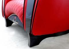 Casa Tonino Lamborghini Tonino Lamborghini Carbon Imola Leather Armchair by Formitalia - 1142437