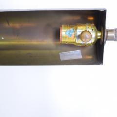 Casella Lighting Modern Industrial Brass Pharmacy Floor Lamp Style Casella 1970s - 1985941