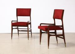 Cassina 12 x Model 676 Dining Chairs by Gio Ponti for Cassina - 2057873