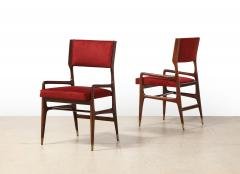 Cassina 12 x Model 676 Dining Chairs by Gio Ponti for Cassina - 2057875