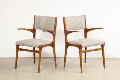 Cassina 8 Arm Chairs by Carlo DeCarli  - 1742672