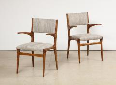 Cassina 8 Arm Chairs by Carlo DeCarli  - 1742674