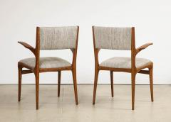 Cassina 8 Arm Chairs by Carlo DeCarli  - 1742677