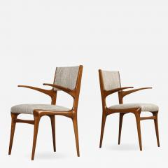 Cassina 8 Arm Chairs by Carlo DeCarli  - 1743433