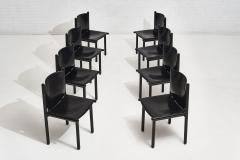Cassina Caprile Dining Chairs by Gianfranco Frattini for Cassina circa 1980 - 1909492