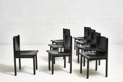 Cassina Caprile Dining Chairs by Gianfranco Frattini for Cassina circa 1980 - 1909493