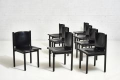 Cassina Caprile Dining Chairs by Gianfranco Frattini for Cassina circa 1980 - 1909494