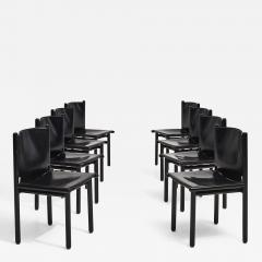 Cassina Caprile Dining Chairs by Gianfranco Frattini for Cassina circa 1980 - 1911922