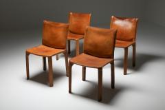 Cassina Cassina Cognac CAB Chairs 1970s - 1691690