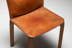 Cassina Cassina Cognac CAB Chairs 1970s - 1691696