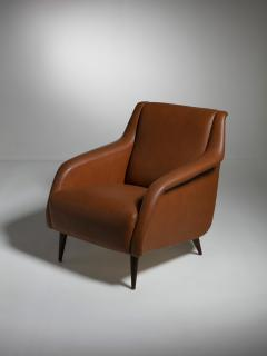 Cassina Pair of 802 Armchairs by Carlo De Carli for Cassina - 1488644