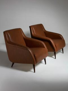 Cassina Pair of 802 Armchairs by Carlo De Carli for Cassina - 1488647