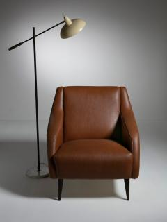 Cassina Pair of 802 Armchairs by Carlo De Carli for Cassina - 1488650