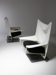 Cassina Pair of Aeo Lounge Chairs by Archizoom for Cassina - 1186741