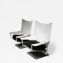 Cassina Pair of Aeo Lounge Chairs by Archizoom for Cassina - 1187114