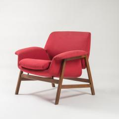 Cassina Pair of Armchairs by Gianfranco Frattini for Cassina - 1179259