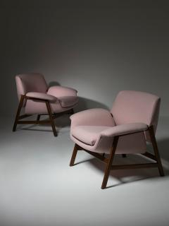 Cassina Pair of Armchairs by Gianfranco Frattini for Cassina - 1392791