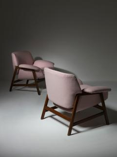Cassina Pair of Armchairs by Gianfranco Frattini for Cassina - 1392796