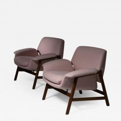 Cassina Pair of Armchairs by Gianfranco Frattini for Cassina - 1394580