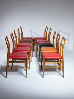 Cassina Set of 10 Leggera Chairs by Gio Ponti for Cassina - 1565866