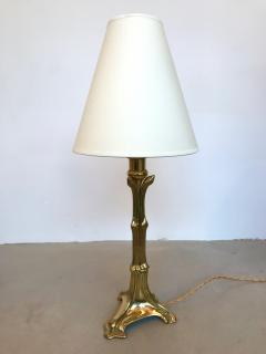 Cattadori Pair of Brass Neo Classical Lamps by Cattadori Italy 1970s - 518667