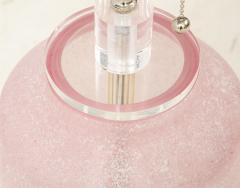 Cenedese 1960s Pink Cenedese Lamp - 1924156