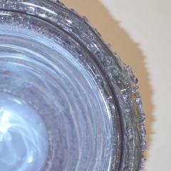 Cenedese Cenedese Italian Pair of Pink Amethyst Aqua Blue Alexandrite Murano Glass Vases - 1059517