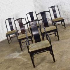 Century Furniture Chin hua dining chairs set six 4 side 2 armchairs by raymond k sobota - 1938892