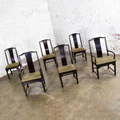 Century Furniture Chin hua dining chairs set six 4 side 2 armchairs by raymond k sobota - 1938895