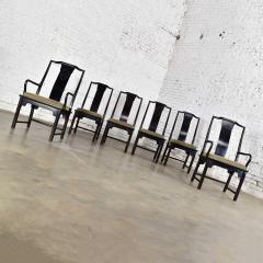 Century Furniture Chin hua dining chairs set six 4 side 2 armchairs by raymond k sobota - 1938904