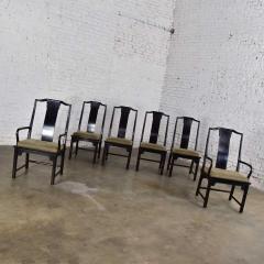 Century Furniture Chin hua dining chairs set six 4 side 2 armchairs by raymond k sobota - 1938912