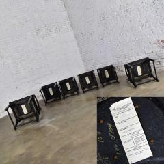 Century Furniture Chin hua dining chairs set six 4 side 2 armchairs by raymond k sobota - 1938913