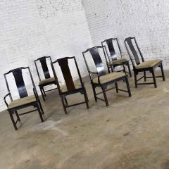 Century Furniture Chin hua dining chairs set six 4 side 2 armchairs by raymond k sobota - 1938917