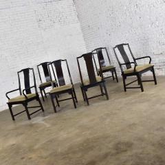 Century Furniture Chin hua dining chairs set six 4 side 2 armchairs by raymond k sobota - 1938918