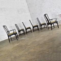 Century Furniture Chin hua dining chairs set six 4 side 2 armchairs by raymond k sobota - 1938932