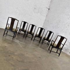 Century Furniture Chin hua dining chairs set six 4 side 2 armchairs by raymond k sobota - 1938944