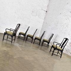 Century Furniture Chin hua dining chairs set six 4 side 2 armchairs by raymond k sobota - 1938946