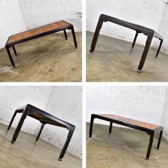 Century Furniture Vintage chinoiserie hollywood regency chin hua dining table by raymond k sobota - 1938885