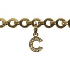 Chanel Chanel 18k Gold and Diamond Charm Bracelet - 234149