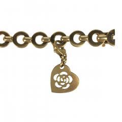 Chanel Chanel 18k Gold and Diamond Charm Bracelet - 234150