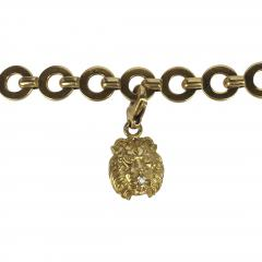 Chanel Chanel 18k Gold and Diamond Charm Bracelet - 234151