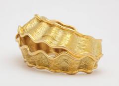 Chanel Chanel Chanel Vintage 18 kt Gold Cuff - 501758