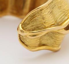 Chanel Chanel Chanel Vintage 18 kt Gold Cuff - 501761