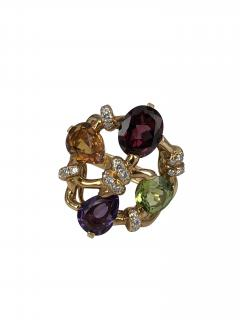 Chanel Chanel multi colored stone and diamond ring - 1466120