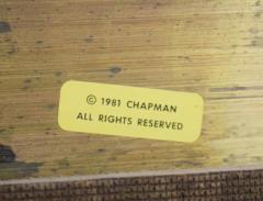 Chapman Mfg Co Custom Solid Brass Mirror by Chapman - 742011