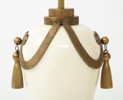 Chapman Mfg Co Stunning Pair of Art Deco Style Ceramic Lamps - 1137390