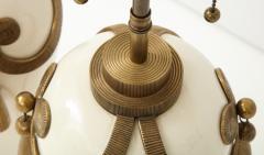 Chapman Mfg Co Stunning Pair of Art Deco Style Ceramic Lamps - 1137394