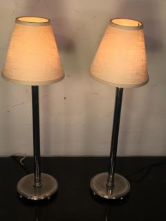 Chase Brass and Copper Company SUITE OF THREE PAIRS OF ART DECO LAMPS PRICED PER PAIR - 766013