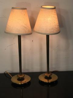 Chase Brass and Copper Company SUITE OF THREE PAIRS OF ART DECO LAMPS PRICED PER PAIR - 766016