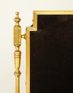 Chiavari Suite of four solid brass Chiavari chairs Italy 1970s - 1041575